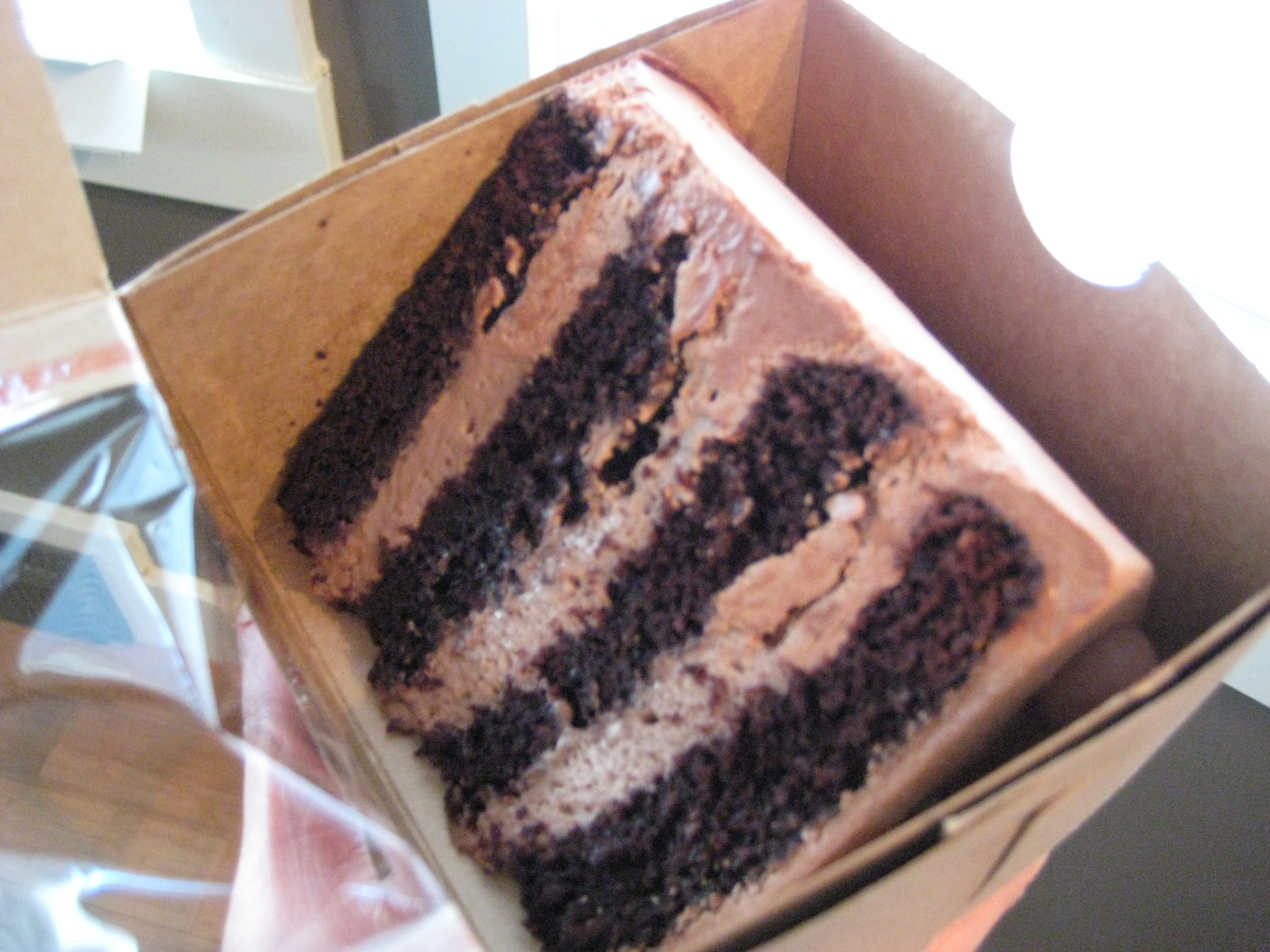 my FAVORITE cake – triple chocolate malt ball cake – best filling ...