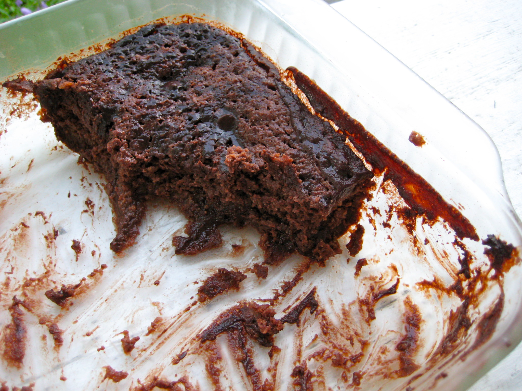 Recipe Chocolate Pudding Cake And Dark Chocolate Dreams