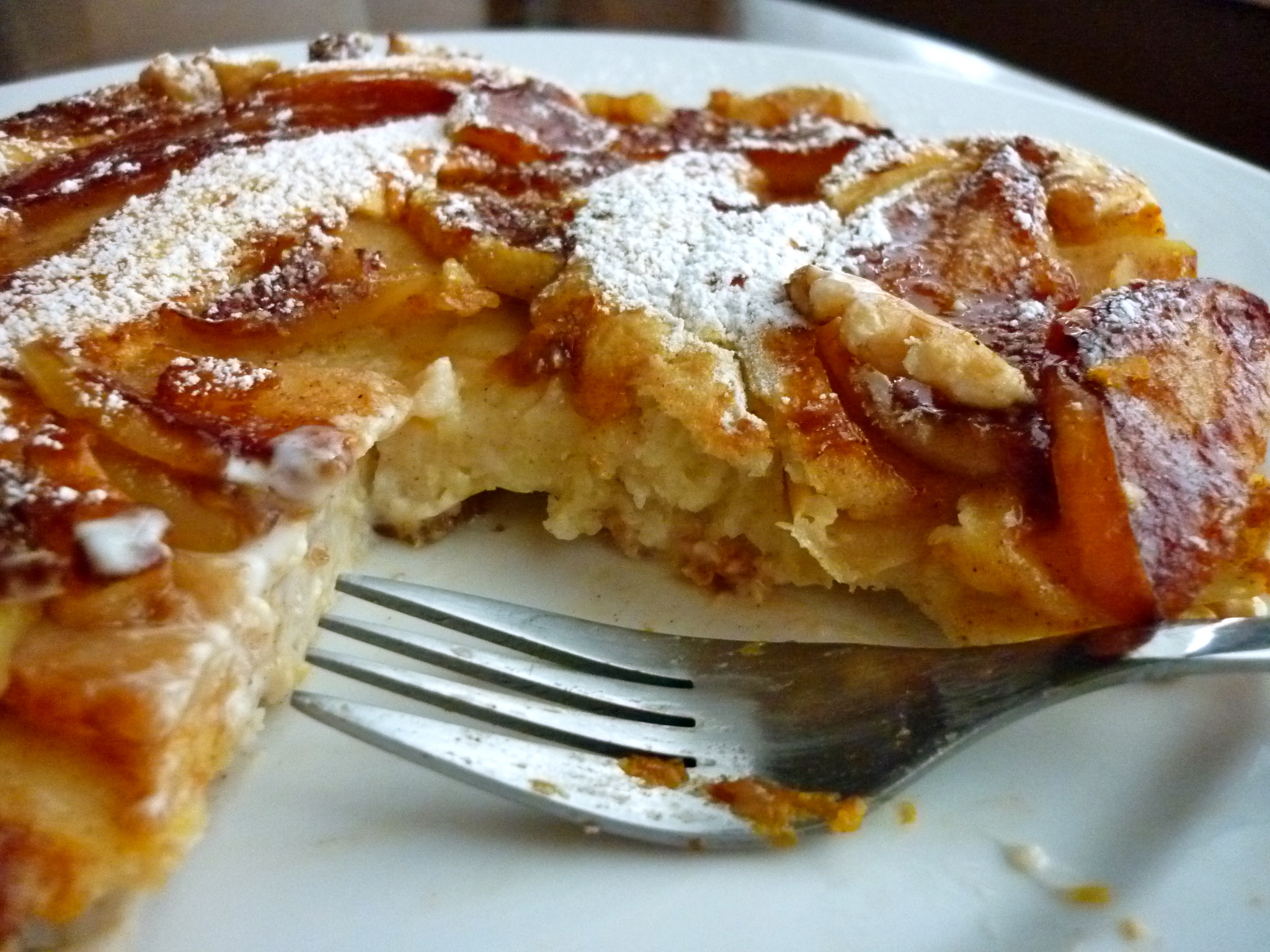 Apple Ginger Dutch Baby Pancake (adapted from Martha Stewart) - makes ...