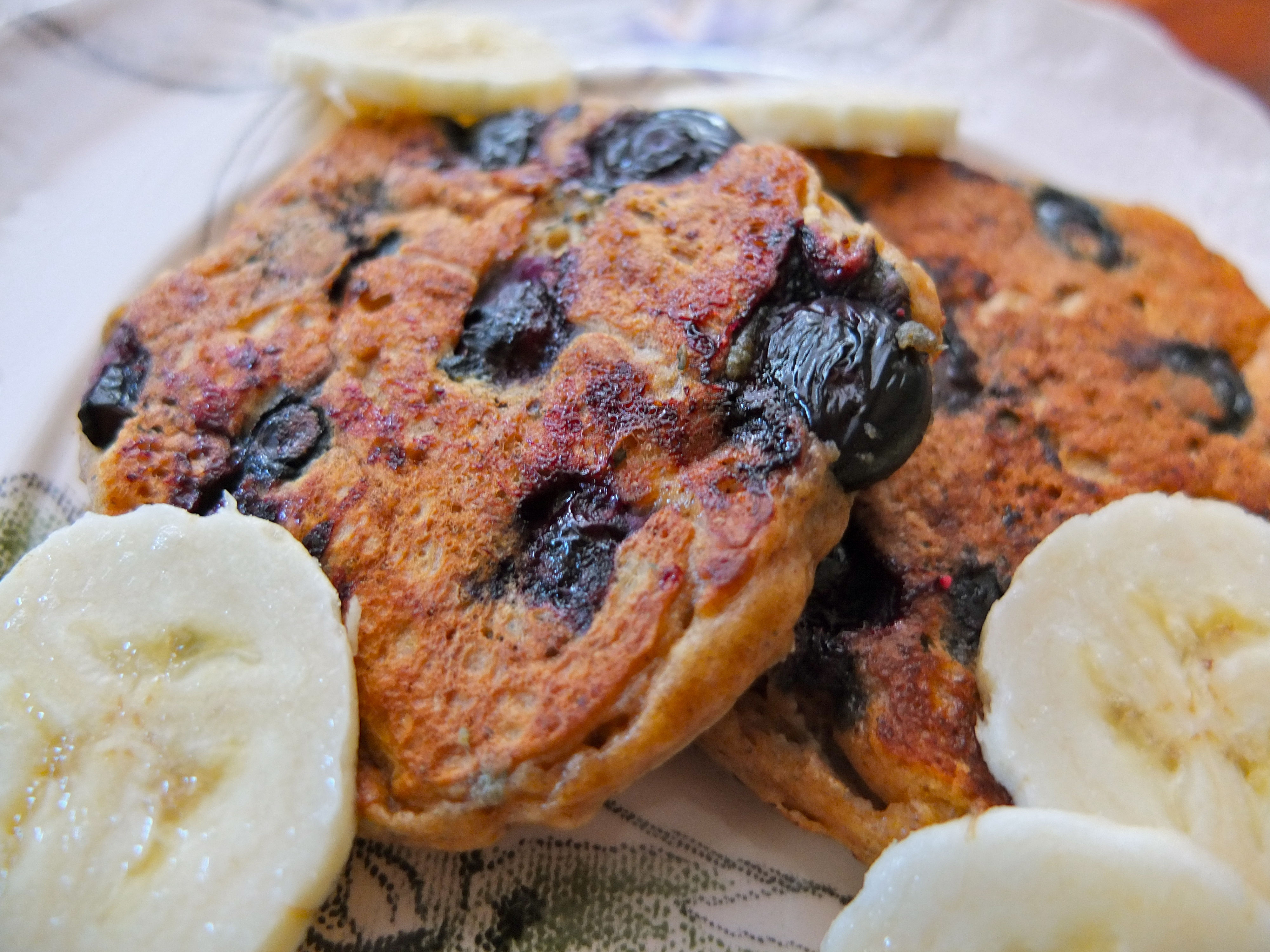 Recipe: Lemon Blueberry Sour Cream Pancakes with Candied Ginger ...